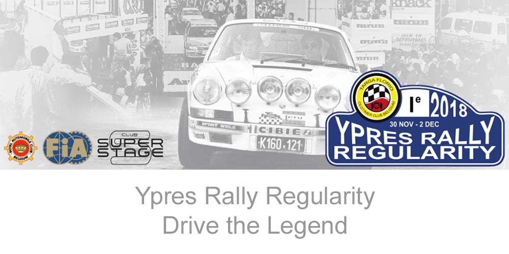 Ypres Rally® regularity