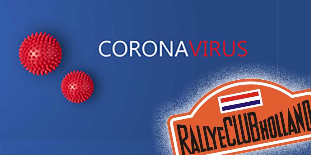 Update verplaatste rally's en ritten door Corona virus
